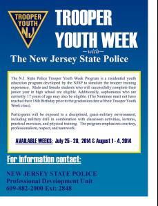 State Police Trooper Youth Week Program