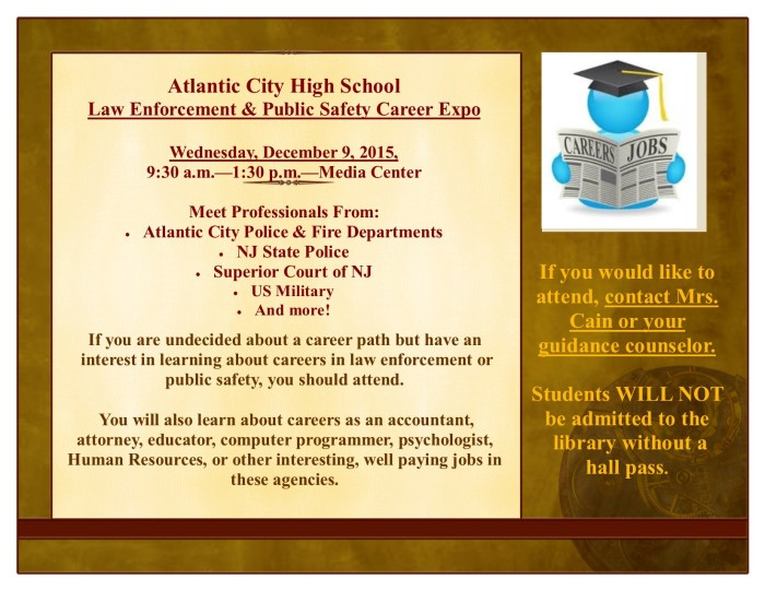 Career Expo Flyer Dec 9