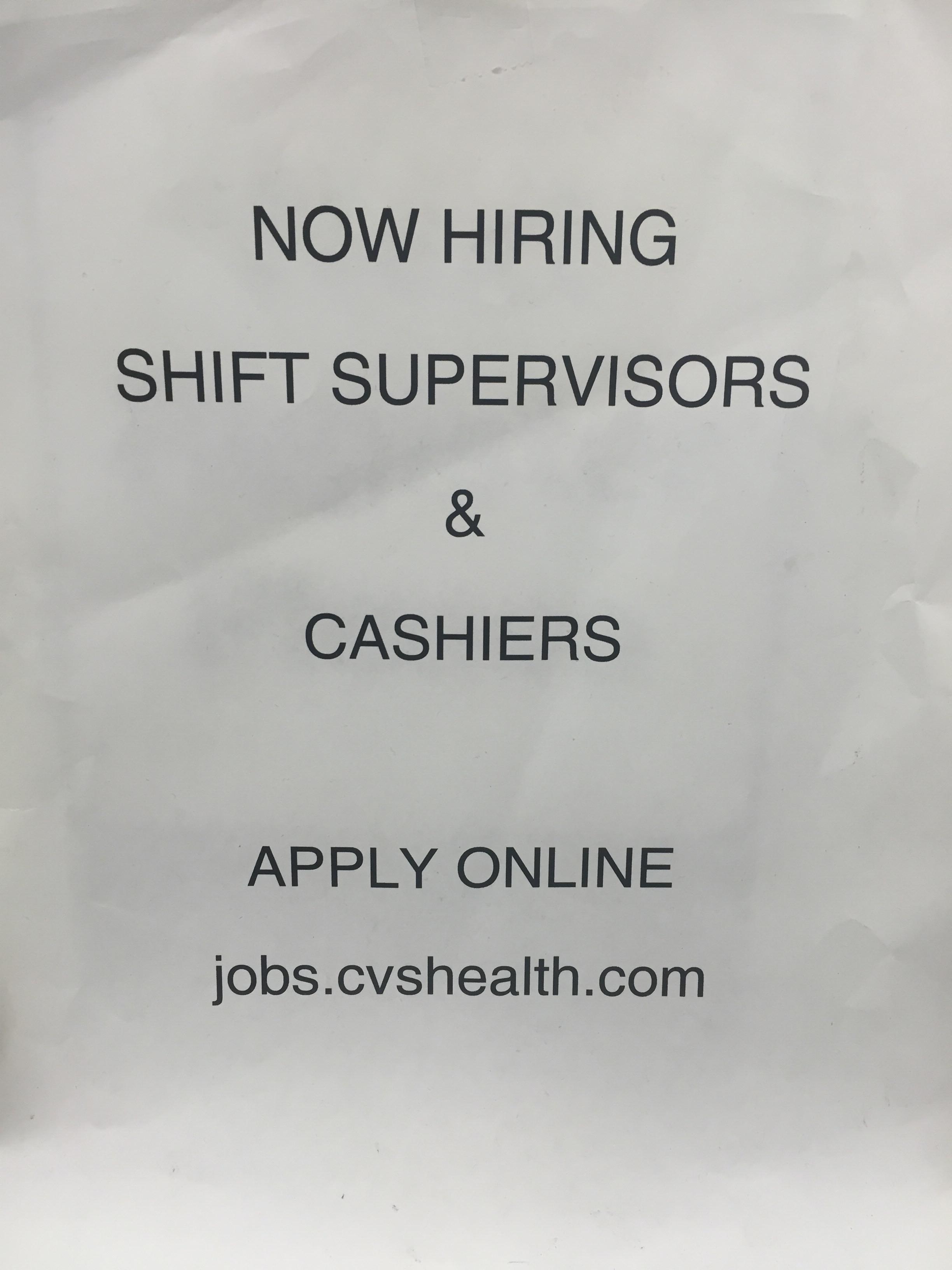 cvs apply online cashier cvs apply online